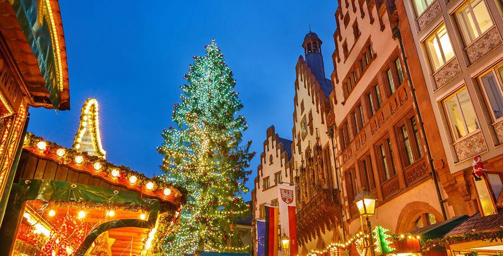 Les marchés de Noël figurent parmi les plus importants du pays.