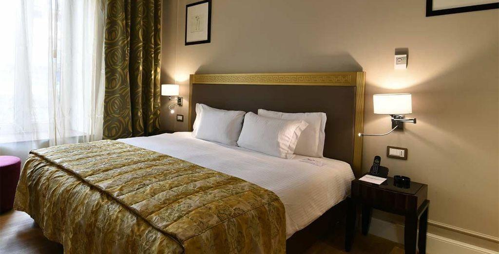 Toujours en chambre Standard, vos douces nuits vous permettront de profiter des nombreux équipements...