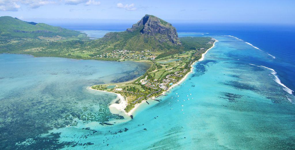 Puis envolez-vous sur l'île voisine, Maurice !