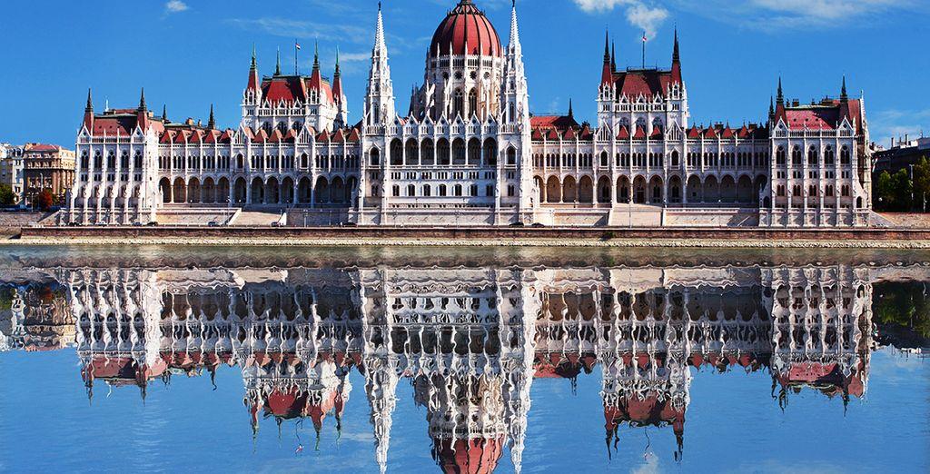 En plein cœur de Budapest...