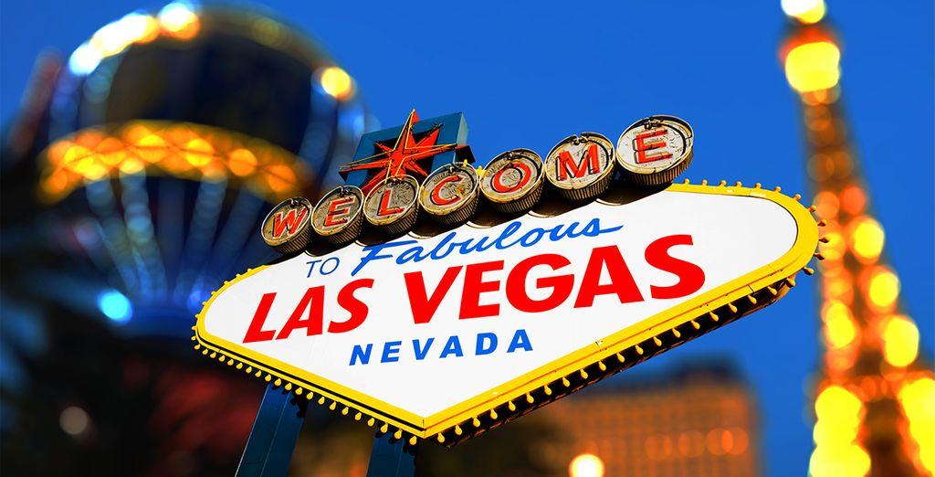 Las Vegas et ses casinos pour tenter votre chance...