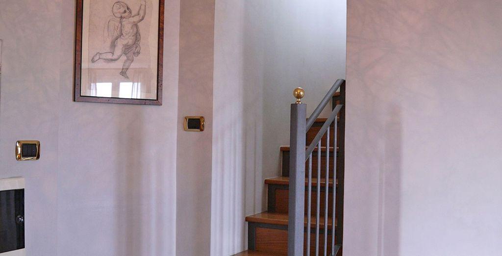Direction l'étage