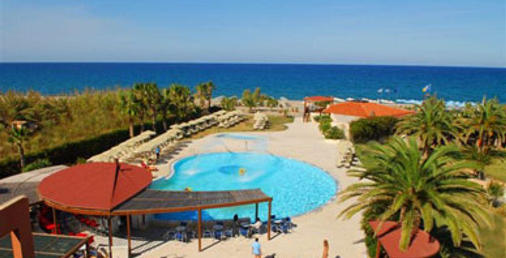 - Hôtel Minos Mare **** - Rethymnon - Crète Rethymnon