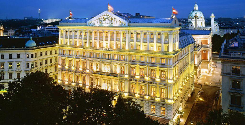 Bienvenue à l'hôtel Imperial - A Luxury Collection Hotel 5*
