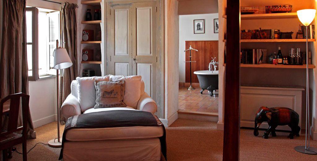 La Chambre avec Vue et son ambiance coloniale...