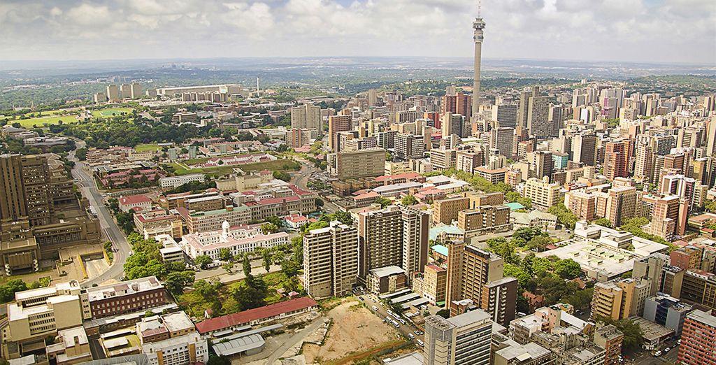 Avant de vous diriger vers Johannesburg...