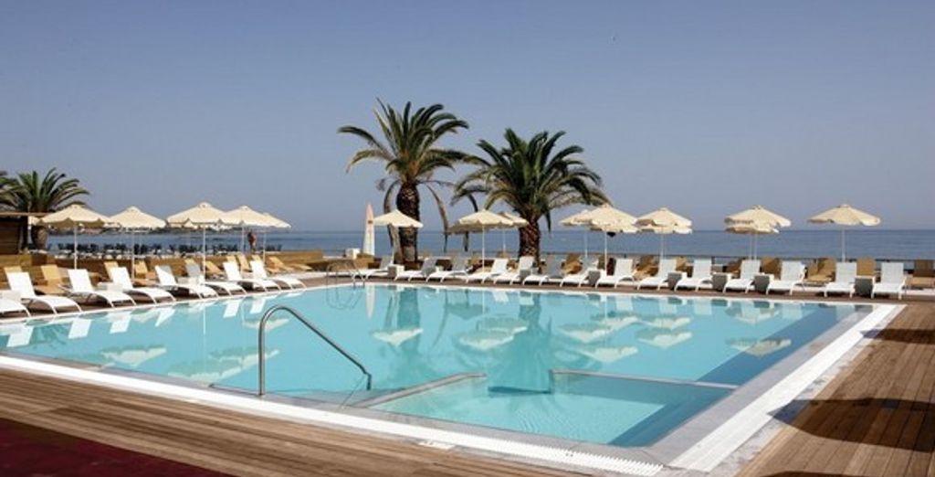 La piscine  - Hôtel Anthoussa Resort & Spa ***** - Stalis - Crète Stalida