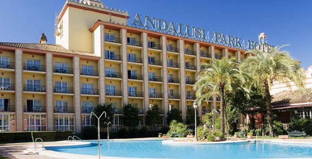 L'hôtel - Insignia Hotel Andalusi Park **** Séville