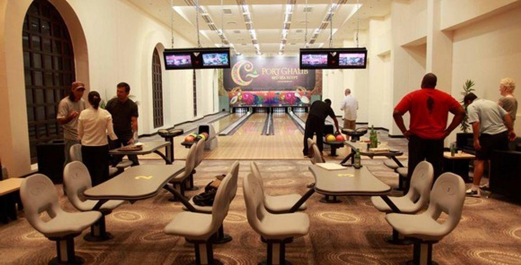 Le bowling de la Marina de Port Ghalib