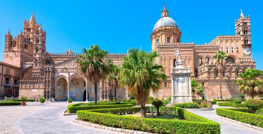 Sans omettre la belle ville de Palerme