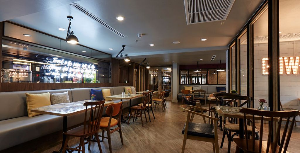 Hôtel 4 étoiles à Bangkok avec bar et restaurant