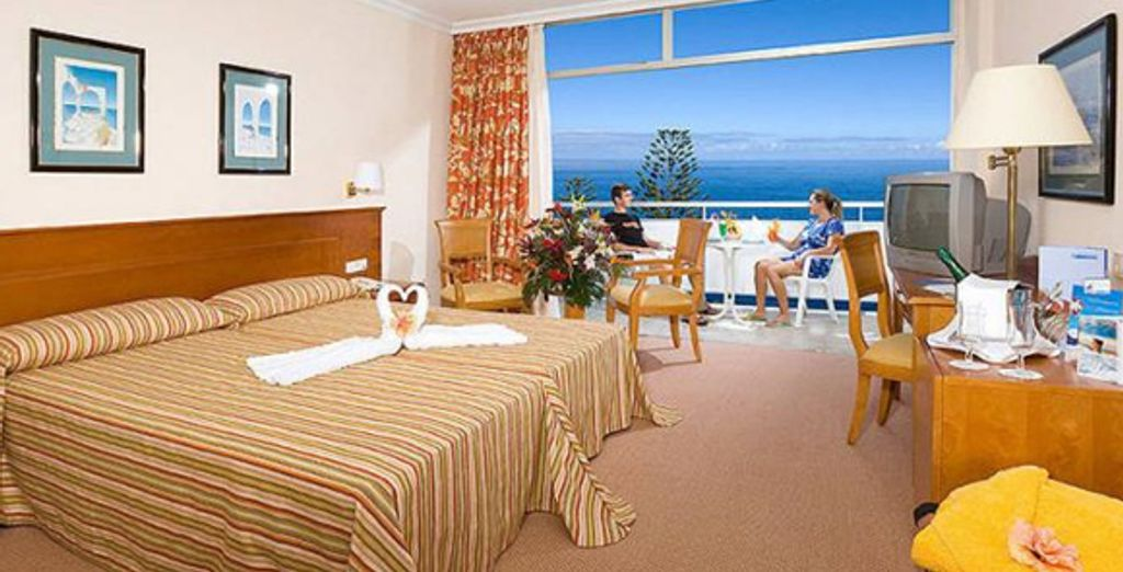 La chambre Standard - Hôtel Blue Sea Interpalace **** Puerto La Cruz