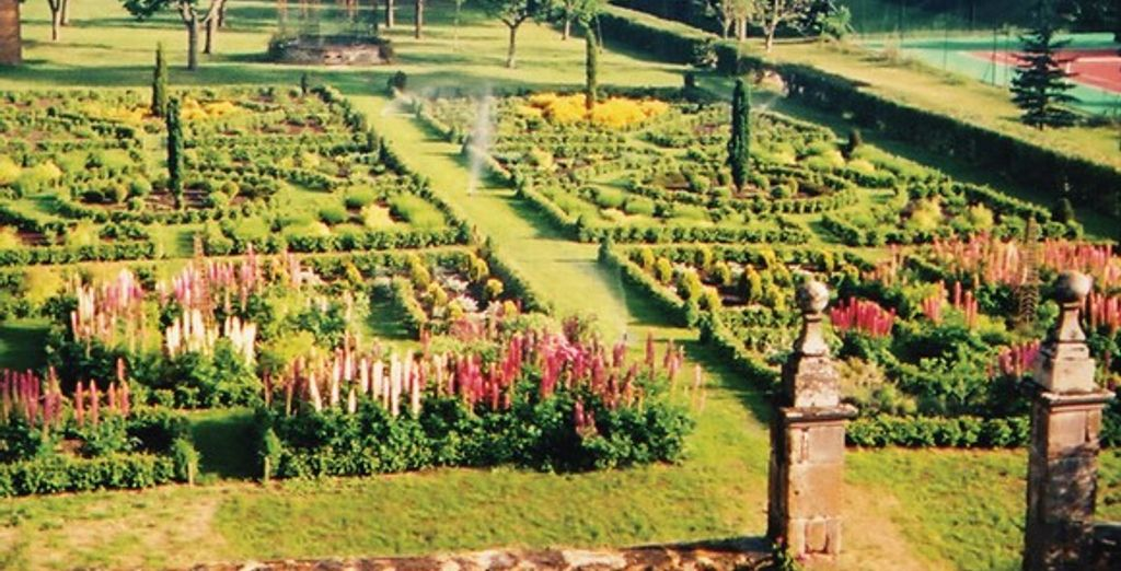 Les jardins de l'établissement