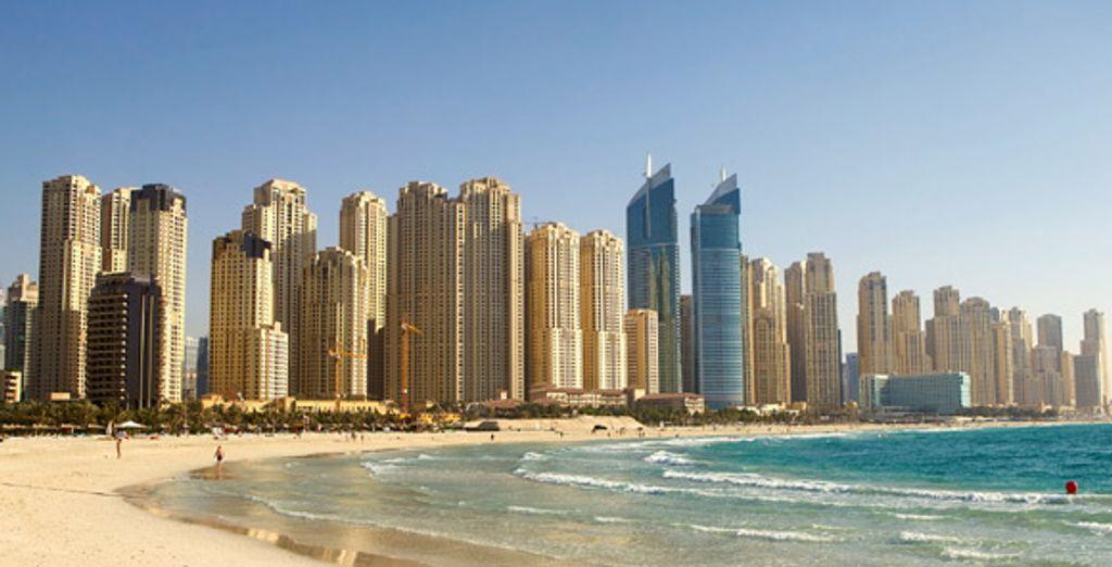 Une vue sur Dubaï