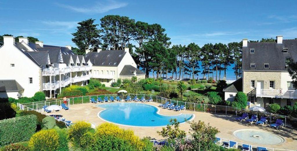 Bienvenue dans la Résidence Cap Azur Cap Coz - Résidence Cap Azur - Cap Coz - France Fouesnant