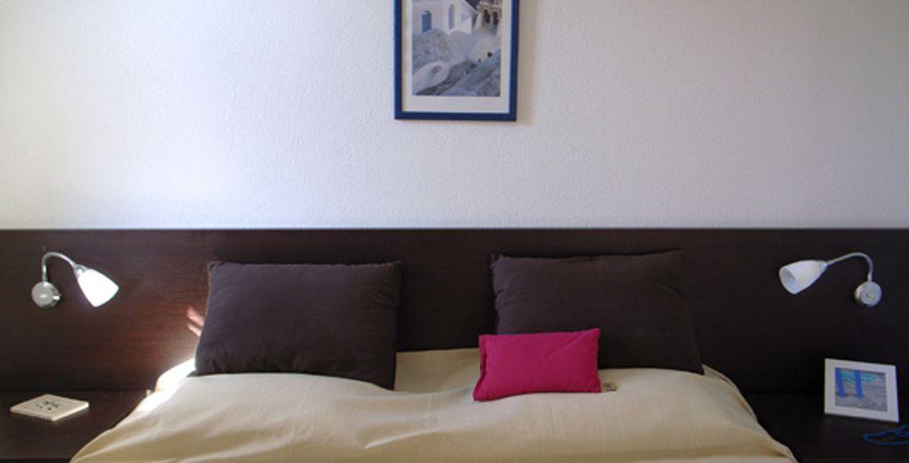 L'appartement : la chambre