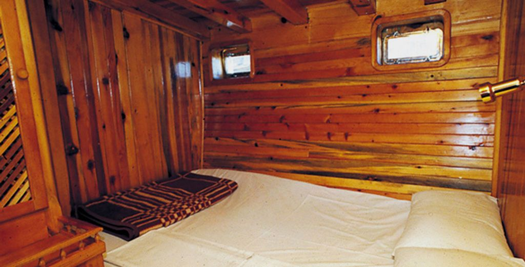 La cabine double