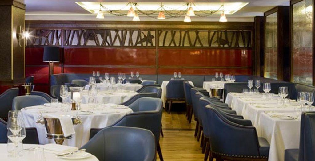 Le restaurant &#34Corrigan's Mayfair&#34