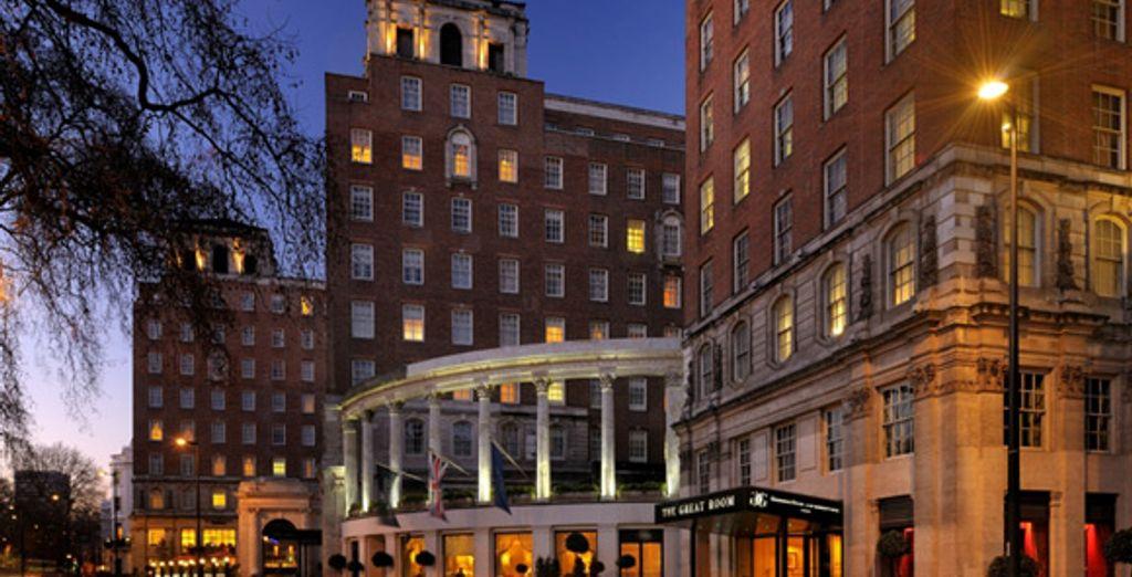 L'entrée de l'hôtel - Grosvenor House Hotel ***** Londres