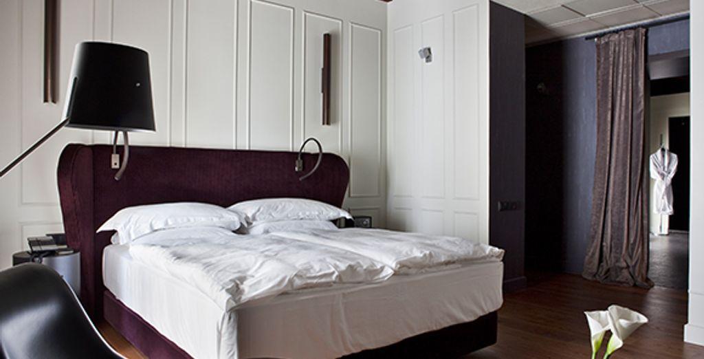 Appréciez le confort d'une grande chambre Deluxe - Alma Sevilla - Palacio de Villapanés ***** Seville