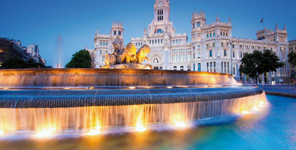 Départ de Madrid après vous être baladé de place... - Circuit