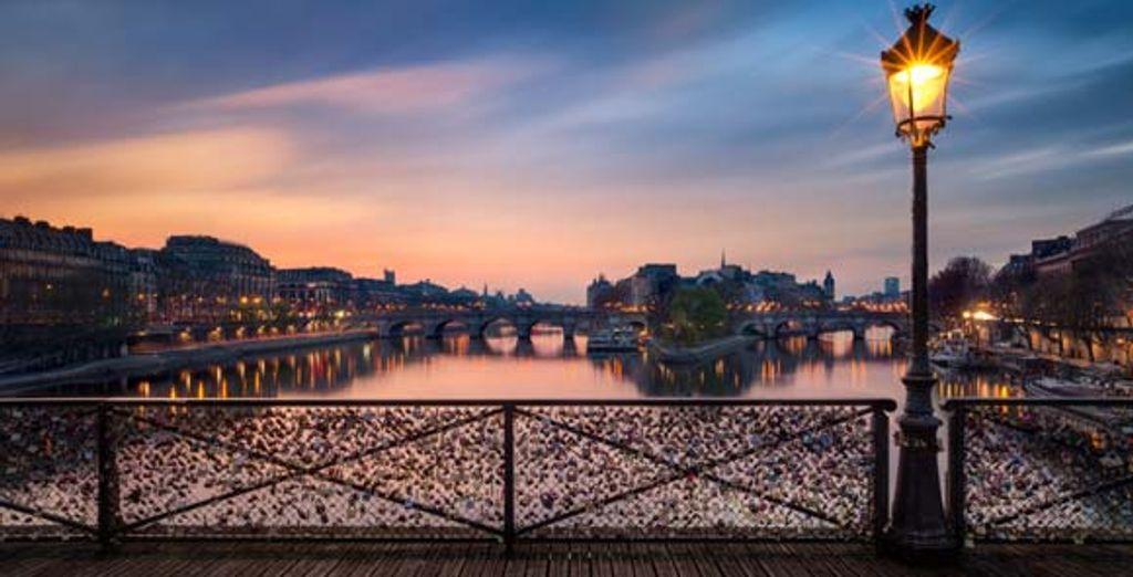 Le romantique pont des Arts
