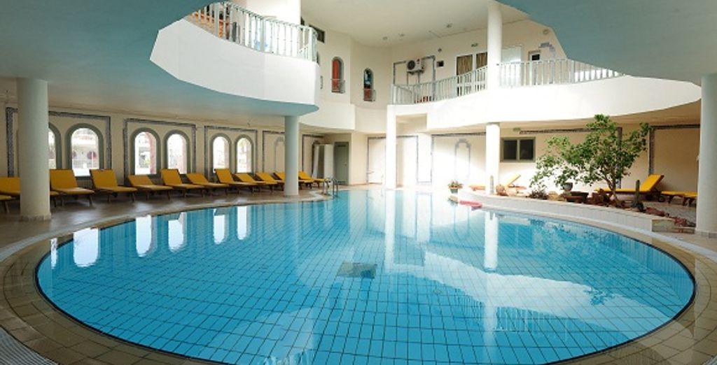 La piscine intérieure en toute intimité