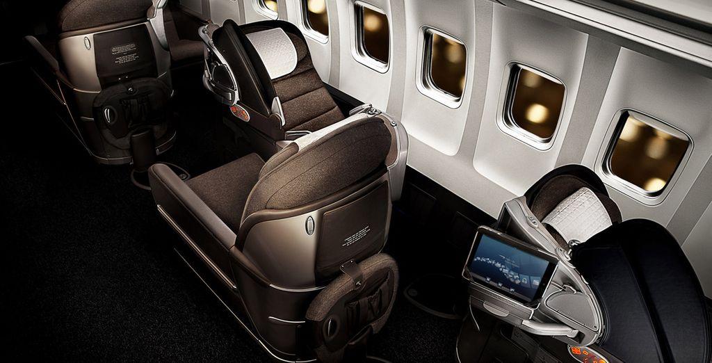 Choisissez de partir 5 nuits avec Openskies, filiale de British Airways