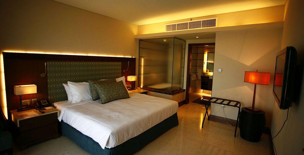 Chambres confortables et modernes