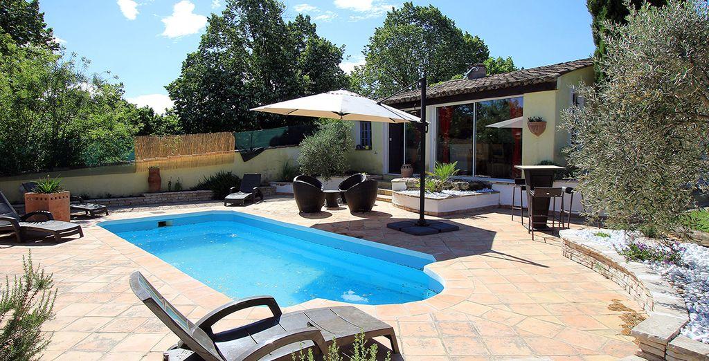 Avec piscine privée
