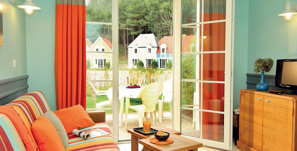 Installez-vous en maison ou en appartement... - Village Club Pierre & Vacances Belle Dune Fort-Mahon-Plage
