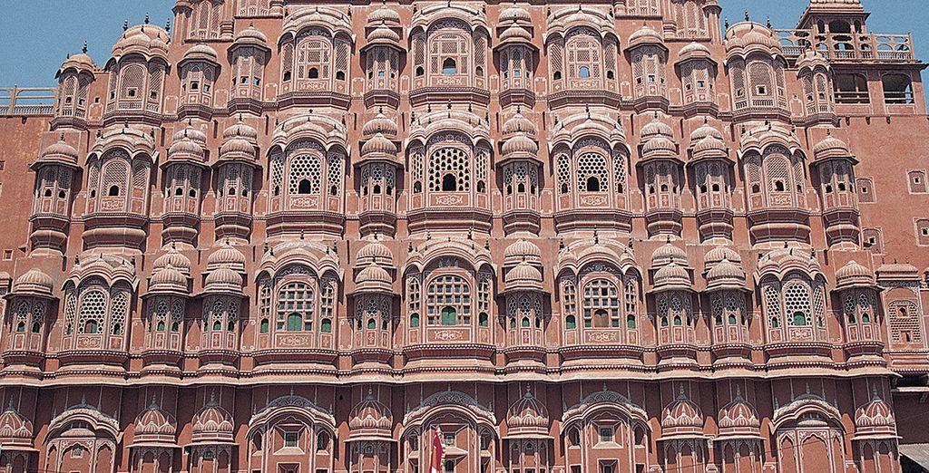 Comme le Palais de Vents à Jaipur