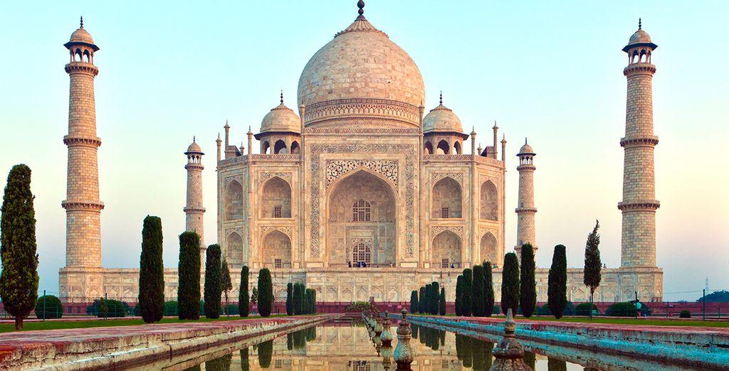 Ou le fabuleux Taj Mahal