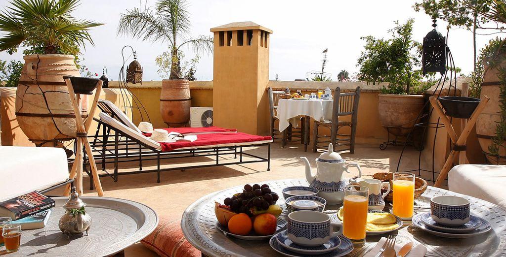 Une terrasse agréable...