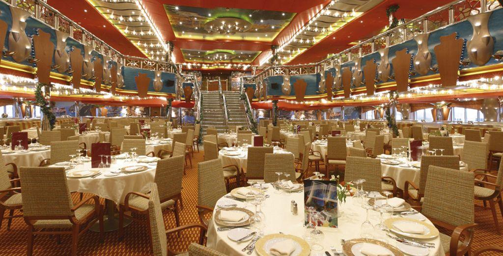 Profitez des saveurs dans l'un des restaurants - Croisière Mer & Mythes en 8 jours / 7 nuits Venise