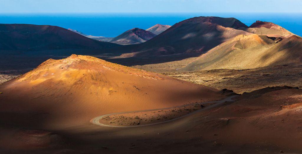 Partez à la découverte de l'île, le Parc National...