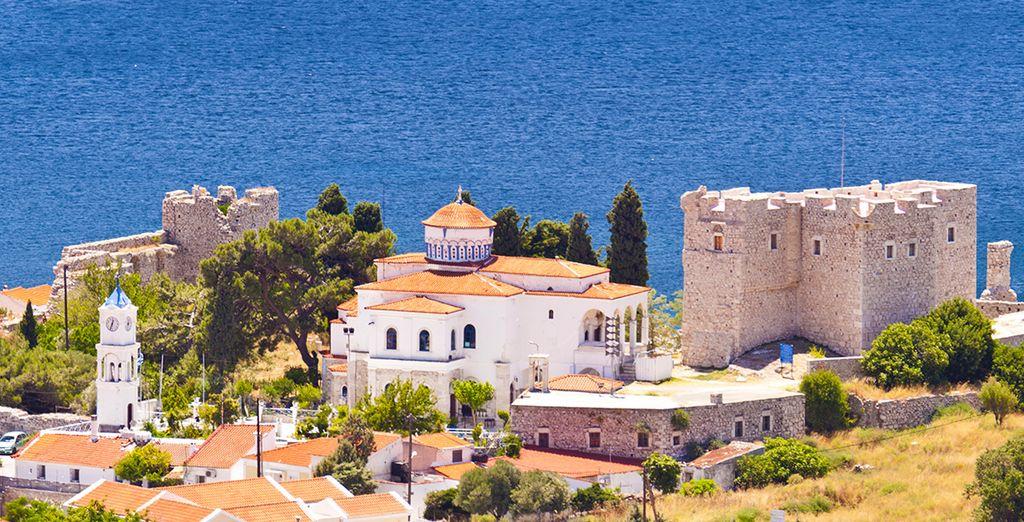 Promenez-vous par delà les chemins de Samos