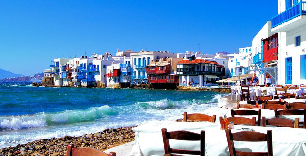 Goûtez aux saveurs grecques à Mykonos