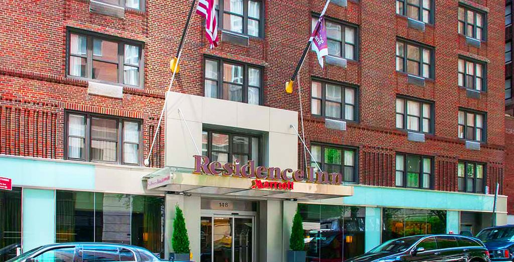 Vous serez parfaitement situé, en plein Midtown East - Residence Inn by Marriott East Side 4* New York