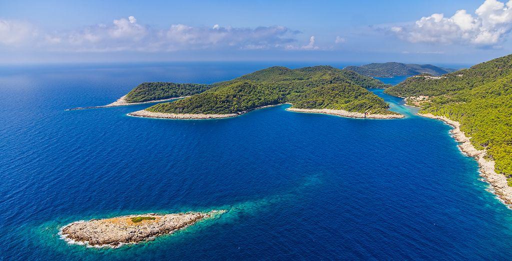 Admirez la beauté sauvage de l'île Mljet