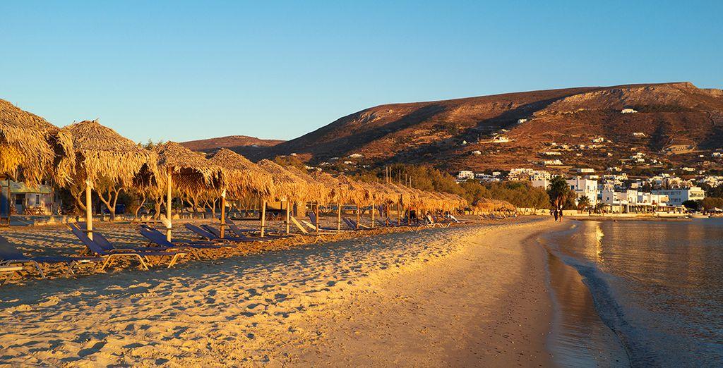 Les belles plages de l'île ainsi que ses ports animés vous feront fondre de bonheur