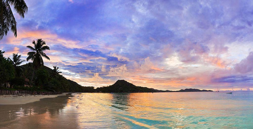 Vous garderez des souvenirs inoubliables de votre croisière sur les eaux turquoise de l'océan Indien...
