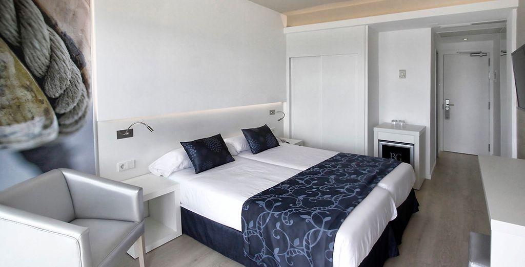 Séjournez en chambre Standard, moderne et confortable