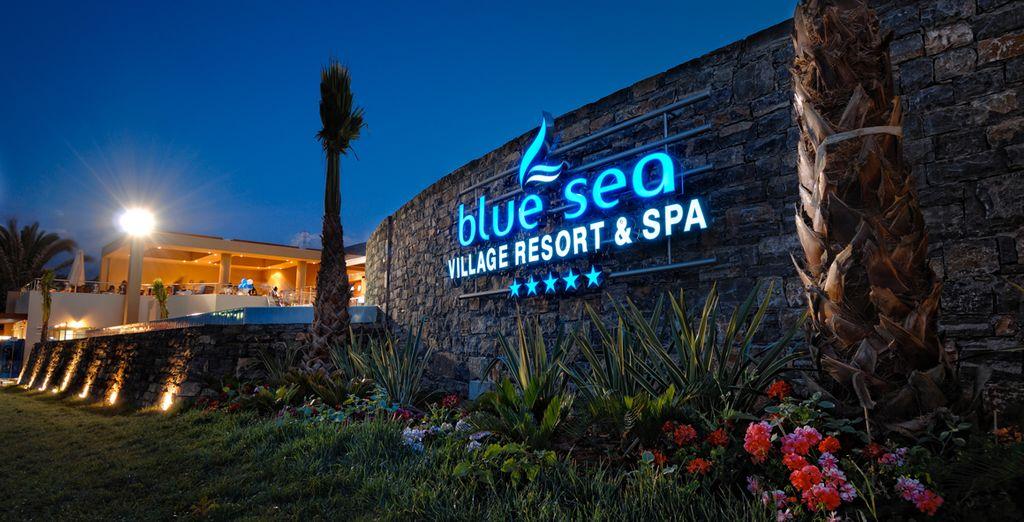 Et profitez du confort ce 5*... - Hôtel Blue Sea 5* Stalida