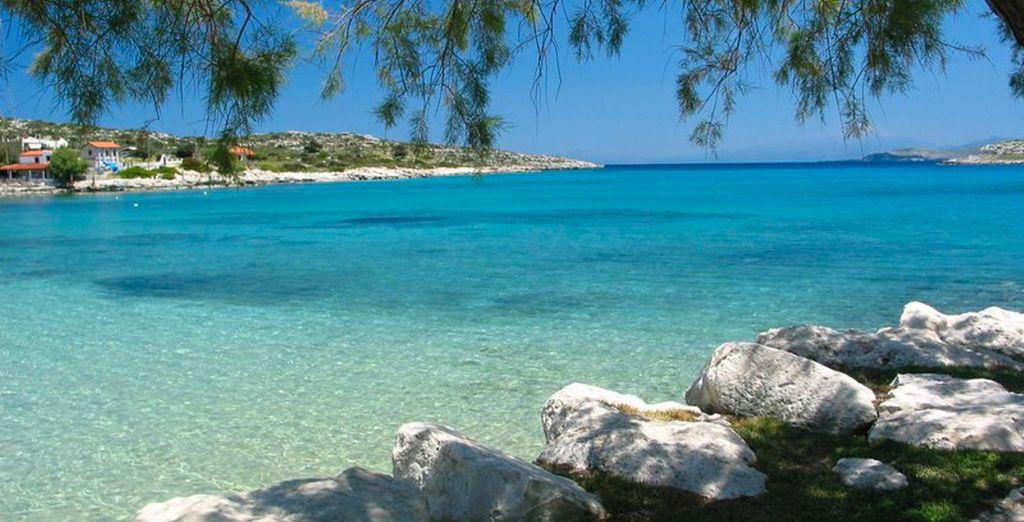 Bienvenue en Crète... où l'eau est toujours turquoise