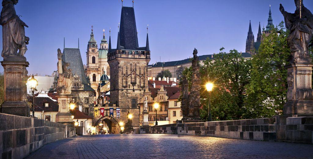 Partez à la découverte d'une ville magique... Bienvenue à Prague !