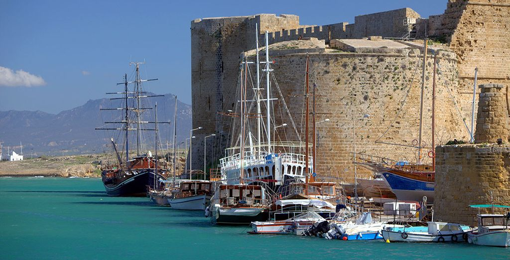 Ou de découvrir le château de Kyrenia