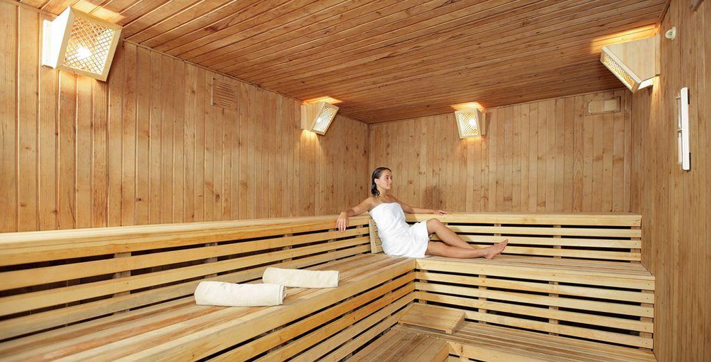 Venez oublier vos tracas dans le sauna
