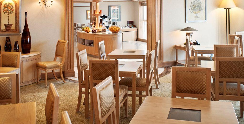 L'hôtel dispose de 13 bars et restaurants pour satisfaire toutes vos envies