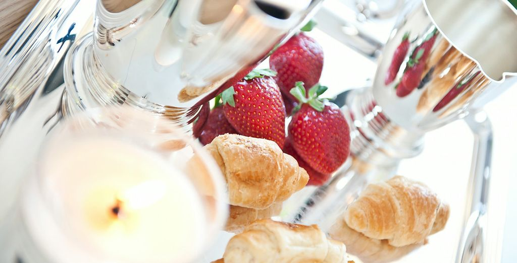 Fruits, viennoiseries... Totalement gourmand !